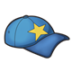 Blue Cap with star