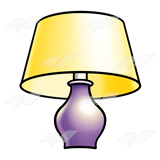Purple Lamp