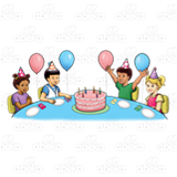 Birthday Party Scene