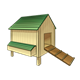 Chicken House with ramp