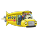 Fish School Bus undersea