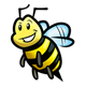 Bee 2 smiling