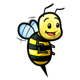 Bee 10 excited