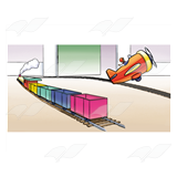 Toy Train and Plane