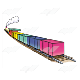 Colorful Train