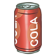 Can of Cola one can