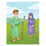 Bible Times Boy and Girl