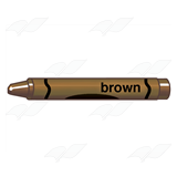 Brown Crayon