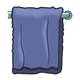 Blue Towel on bar
