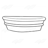 Metal Washtub 1
