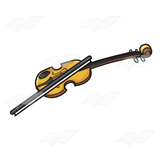 Light Brown Violin
