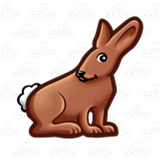 Cautious Brown Rabbit