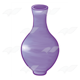 Purple Water Jar