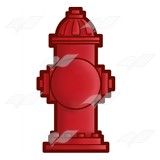 Red Fire Hydrant 2