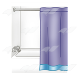 Tub and Shower Curtain
