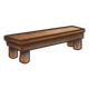 Wooden Bench without a back
