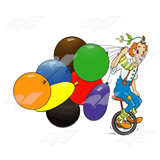 Unicycle Clown
