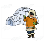 Eskimo and Igloo