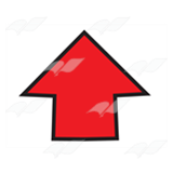 Short Red Arrow