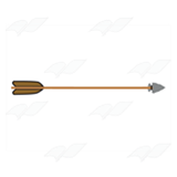 Arrow with Wooden Shaft