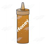 Honey Squirt Bottle