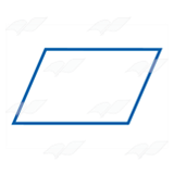 Blue Parallelogram
