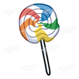 Striped Lollipop