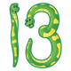 Number 13 snakes
