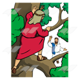Zaccheus in a Tree