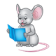 Reading Mouse child