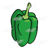 Green Bell Pepper 2