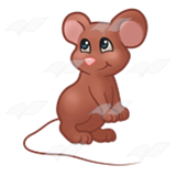 Shy Brown Mouse
