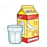 Yellow Milk Carton
