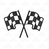 Two Checkered Flags