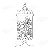 Decorative Candy Jar
