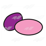 Two Coated Candies