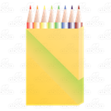 Colored Pencil Box