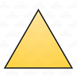 Yellow Triangle 4