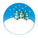 Snow Globe with trees
