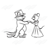 Mice Getting Married