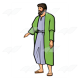 Lazarus in a Green Robe