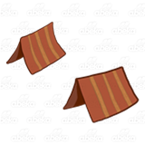 Red Striped Tents