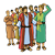 Joseph's Brothers Color PNG