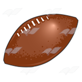 Brown Football