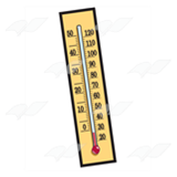 Yellow Thermometer