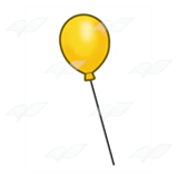 One Yellow Balloon