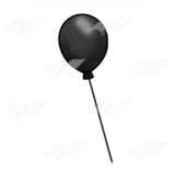 One Black Balloon