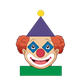 Clown with shape features