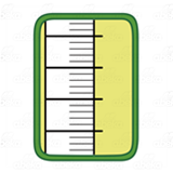 Lime Green Thermometer