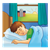 Sleeping Boy Color PNG